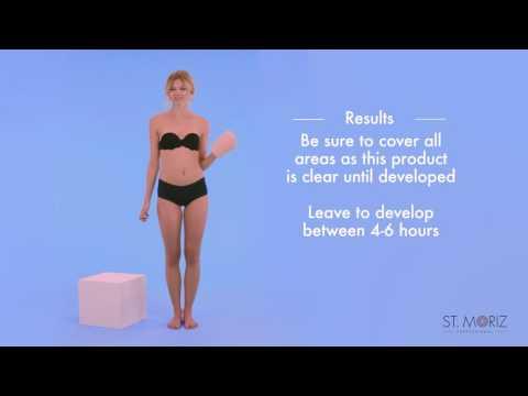 How to apply fake tan - St. Moriz Gradual Self Tanning Lotion
