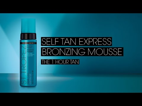 How To Apply I St.Tropez Self Tan Express Bronzing Mousse Tan