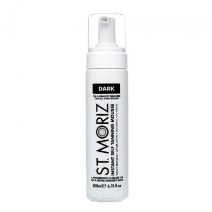 st moriz instant self tanning mousse dark