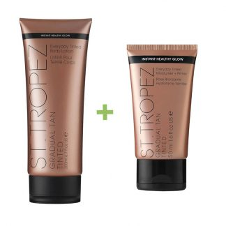 St Tropez gradual bodylotion 200ml en gezichtslotion 50ml
