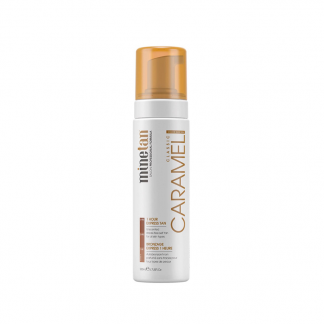 minetan-caramel-self tan foam