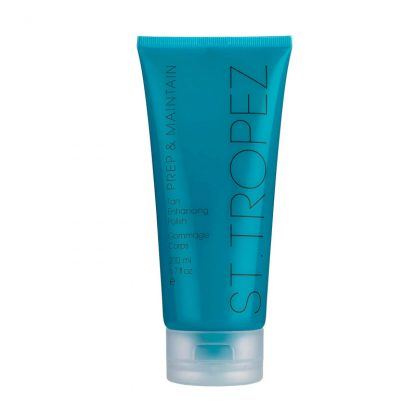 St Tropez body scrub prep & maintain
