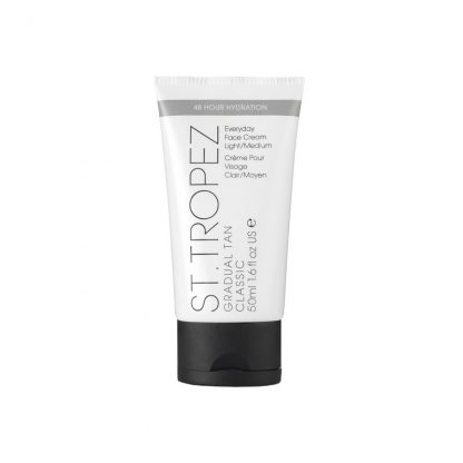 St Tropez face tan light medium