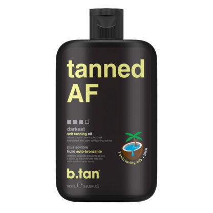 b.tan-tanned-AF-bruinigsolie-tanning-oil-voor-gezicht-en-lichaam-tan-oil