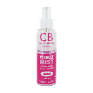 Cocoa Brown face mist dark tanning water